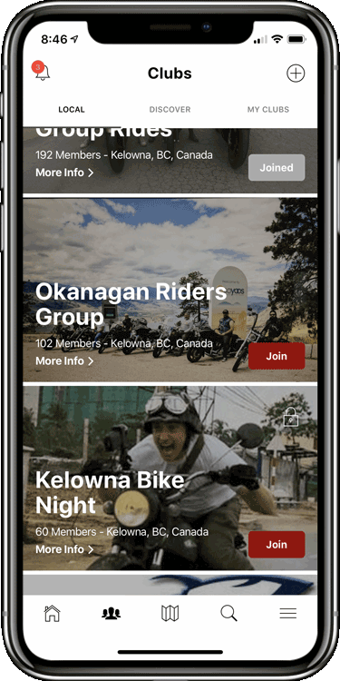 Add biking styles to help riders find you easily